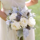 Lavender in bouquet - Santa Barbara Wedding by Beaux Arts Photographie + Brooke Keegan - Style Me Pretty