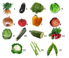 Impariamo l'italiano. Esercizi di lessico italiano :: Le verdure (1)