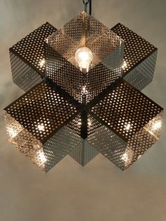 a stunning combination of modern design + up-cycled inspiration, the perforated pendant utilizes perforated metal to create an uncommon modern glow. packing so much style into only 17 inches of space in all directions, the perforated pendant is an unparalleled choice for dining, kitchen, entry + accent lighting.