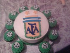 Argentina Soccer cake by Mamas Baked Goodies