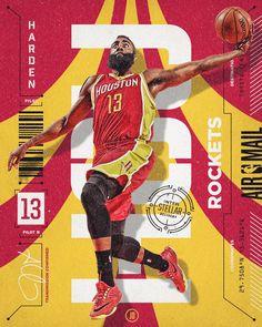 NBA Air Mail im Auftrag - Design Inspiration - Basketball Basketball Posters, Basketball News, Basketball Design, Basketball Pictures, Football Design, Sports Posters, Basketball Hoop, Soccer, Modele Flyer