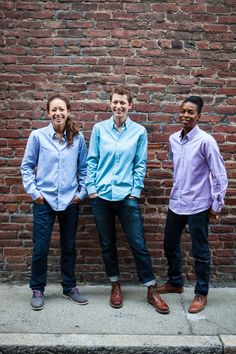 Androgyny Oxford Shirts