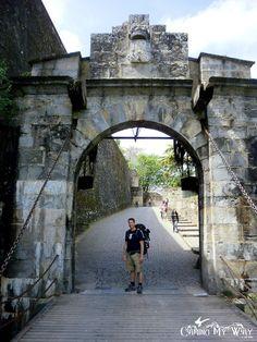 The French Gate, Portal de Francia, Pamplona, Spain, Camino de Santiago, The French Way
