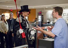 """NCIS. Abby in her bachelor party outfit from """"Up in Smoke."""""""