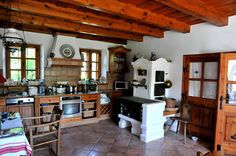 - Herd, Cottage Interiors, Cozy House, Home And Living, Provence, Living Area, Home Kitchens, Shabby Chic, Architecture
