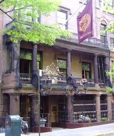 The Players, or the Players Club, is a social club founded in New York City by the noted 19th-century Shakespearean actor Edwin Booth, who purchased an 1847 mansion located at 16 Gramercy Park. During his lifetime, he reserved an upper floor for his home, turning the rest of the building over to the Clubhouse. Its interior and part of its exterior was designed by architect Stanford White.
