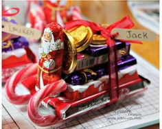 This Sweetie Sleigh is a great stocking filler  or small present for kids