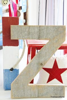 How to: Barn Wood Letter