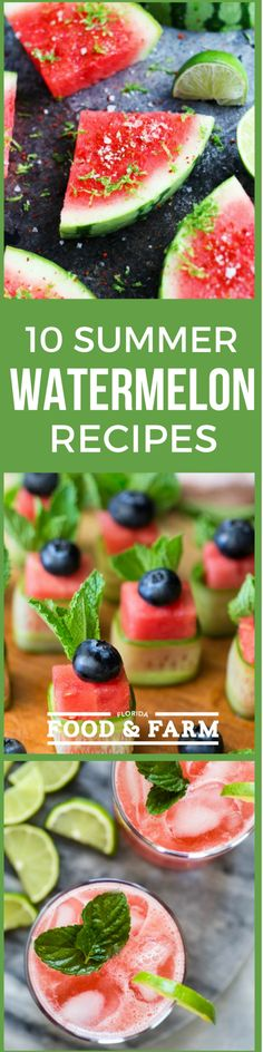 10 Watermelon Recipes You Need to Make this Summer | Florida Food & Farm