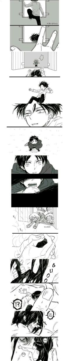 AHHH THIS IS SO ADORABLE I love the chibi version of Levi ;–;