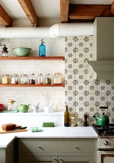 Cottage decor: Kitchen | Jen Albano Interior Spaces & Decorations