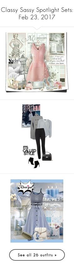 """""""Classy Sassy Spotlight Sets: Feb 23, 2017"""" by mk-style ❤ liked on Polyvore featuring colorchallenge, redandpink, Alexander McQueen, Dorothy Perkins, Dorothee Schumacher, Off-White, Valentino, vintage, Prada and Haider Ackermann"""