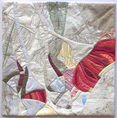 In My Portfolio: Eucalyptus Excerpt 6 | Ruth de Vos: Textile Art