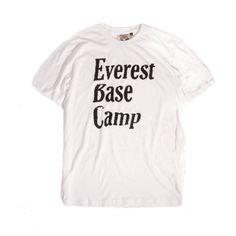 Jungmaven - Everest Base Camp Original Tee  summer  city  camping  hiking   . White Tee ShirtsWhite ... 275ed21c8