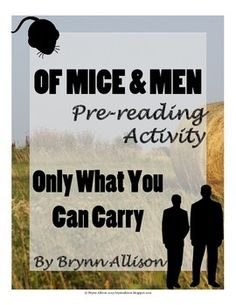 Can someone write a CONTEXT paragraph for Of Mice and Men by john steinback?