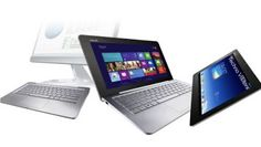 At Computex 2013, Asus recently revealed its most interesting Transformer Book Trio convertible tablet PC, which consists of dual operating systems and two processors ~ Techno Visitors