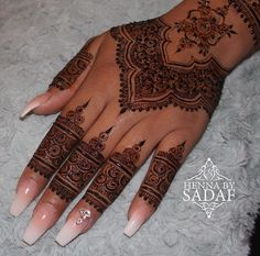 42 Ideas bridal henna mehendi simple for 2019 Henna Tattoos, Henna Ink, Henna Tattoo Hand, Henna Mehndi, Mandala Tattoo, Pretty Henna Designs, Mehndi Design Photos, Bridal Mehndi Designs, Henna Tattoo Designs