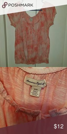 American Eagle shirt Gently worn, has lots of life left American Eagle Outfitters Tops Tees - Short Sleeve