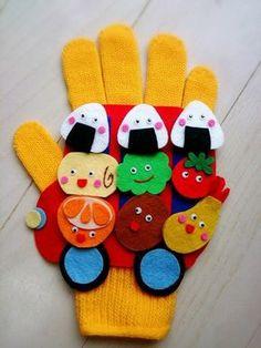 おべんとうのバス♪ | amicoの手袋シアター