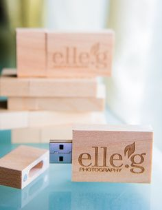 Wooden Custom Flash Drives for Photographers and your Photography business.