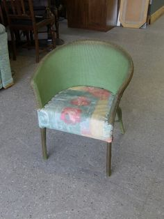Llyod Loom Style Chair Upholstery Project -------------------------------------- was £15 now £12 (PC820)