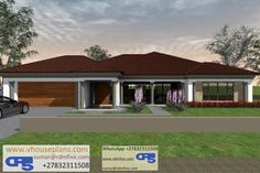 Overall Dimensions- x mBathrooms- 3 Car GarageArea- Square meters Round House Plans, Tuscan House Plans, Free House Plans, Simple House Plans, Family House Plans, Best House Plans, House Plans Mansion, 4 Bedroom House Plans, Flat Roof House Designs