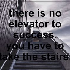 there is no elevator to success. you have to take the stairs. #zipstrr #wednesdaywisdom #motivation #trendsettrr #madeinberlin #fromhollywood #nopicsonlyvids