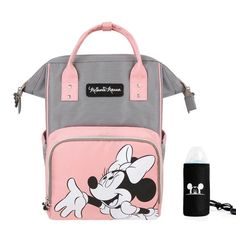 Buy Mickey and Minnie Mouse Backpack Diaper Bags, Baby Bags and Mommy bags at the Lowest Prices on the Market. Do not Miss These Offers - FREE Worldwide Shipping ♥. Mickey Mouse Diaper Bag, Minnie Mouse Backpack, Minnie Mouse Baby Stuff, Baby Girl Diaper Bags, Cute Diaper Bags, Mommy Backpack, Diaper Bag Backpack, Diaper Bag Organization, Girls Bags