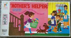 The 1968 MB Games board game 'Mother's Helper'