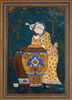 Indian Illustration, Islamic Art Calligraphy, Calligraphy Alphabet, Islamic Paintings, Shiva Art, Celtic Art, Celtic Dragon, Occult Art, Iranian Art