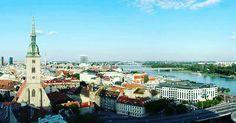 Bratislava Bratislava, Taxi, Prague, Budapest, Paris Skyline, Country, Travel, Viajes, Rural Area
