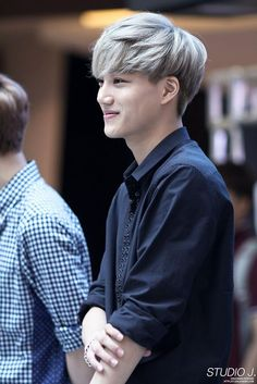 Kai at fanmeeting