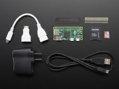 Raspberry Pi Zero Budget Pack: The new Raspberry Pi Zero is one of the most exciting products this holiday season.  For just $5 you can get a tiny little Raspberry Pi that's great for all kinds of projects.   Don't forget you'll want to pick up accessories like HDMI and USB adapters that let you access the tiny ports on the Zero board.