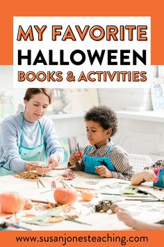 Need some fun Halloween activities and Halloween books to read with your kindergarten, first-grade, and second grade students?! In this video, I share 2 of my favorite October books to read and Halloween activities to do with each, as well as one of my favorite Halloween crafts for kids! These Halloween activities are fun and engaging that you can do anytime during the month of October. There is a Halloween craft that makes a great Halloween bulletin board and writing activity.