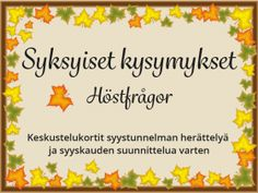 kysymyssarja Archives - RyhmäRenki Photo Grouping, Teaching Kindergarten, Early Childhood Education, Activities, School, Crafts, Peda, Manualidades, Early Education