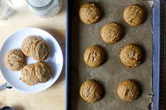 Salted Peanut Butter Cookies — Smitten Kitchen | These five-ingredient cookies contain no butter, flour, or leaveners