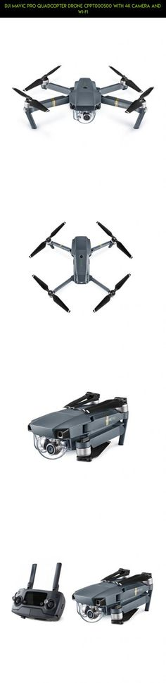 DJI Mavic Pro Quadcopter Drone CPPT000500 with 4K Camera and Wi-Fi #gadgets #products #parts #drone #kit #quadcopter #camera #mavic #racing #plans #technology #pro #fpv #tech #shopping