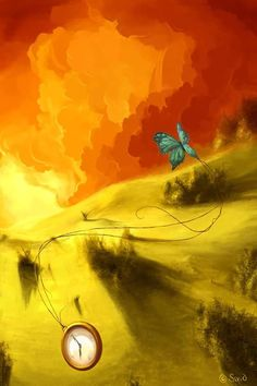 A Butterfly - Cyril Rolando AquaSixio Cyril Rolando, Fun Illustration, Illustrations, Unusual Art, Beautiful Butterflies, Cool Artwork, Painting Techniques, Fantasy Art, Art Drawings