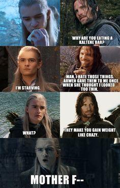 Oml poor Legolas