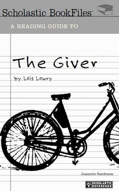 """A 64 page guide for """"The Giver"""" by Lois Lowery. This great resource not only helps students understand, enjoy and think about """"The Giver"""", it also provides background information of Lois Lowry. 8th Grade Ela, 6th Grade Reading, Middle School Reading, Middle School English, Teaching Literature, Teaching Reading, Teaching Activities, Learning, Teaching Ideas"""