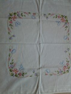 My Embroidered Tablecloth ...
