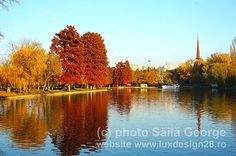 Bucharest / the colors of the Autumn park Alexandru Ioan Cuza The colors of the Autumn, Ioan Cuza District The of the Alexandru Ioan Cuza Park, Bucharest, Romania. Romania Tourism, Bucharest Romania, Autumn Park, Great Inventions, Ancient History, Beautiful Places, River, Colors, Outdoor