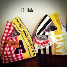 ecobag #ハンドメイド#ハンドメイドバッグ#エコバッグ#布小物#布雑貨 Denim Crafts, Patchwork Patterns, Denim Bag, Handmade Bags, Purses And Bags, Pouch, Quilts, Sewing, Fabric