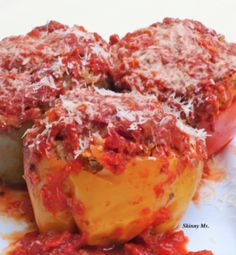 Turkey and Quinoa Stuffed Bell Peppers in the crock pot