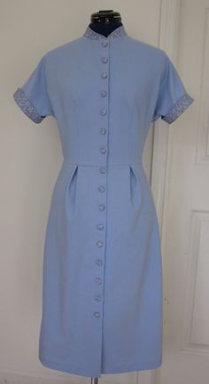 """Replica of Allie's Blue Dress from """"The Notebook"""" - Custom Order. $285.00, via Etsy."""