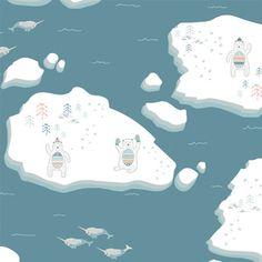 Hawthorne Threads - Fair Isle - Snowy Isle in Marine