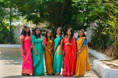 Girls Together, Half Saree, Looking For Women, Silk Sarees, Cover Up, Printed, Elegant, Cotton, Beautiful