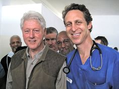 """""""He Tells the Clintons How to Lose a Little"""". New York Times article about Dr. Mark Hyman, who advises the Clintons on their health."""