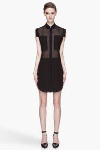 Alexander Wang short dress Black T By on Tradesy