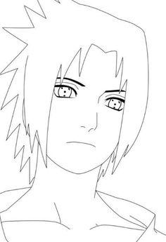 Kakashi Drawing, Naruto Sketch Drawing, Anime Boy Sketch, Naruto Drawings, Art Drawings Sketches Simple, Naruto Shuppuden, Naruto Shippuden Anime, Anime Head Shapes, Manga Watercolor